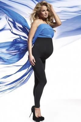 Bas Bleu Anabel PZ Legginsy klasyczne - black