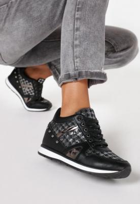 Czarne Sneakersy She's a Mystery