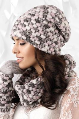 Kamea Merano (09) Nakrycia głowy czapka - różowy