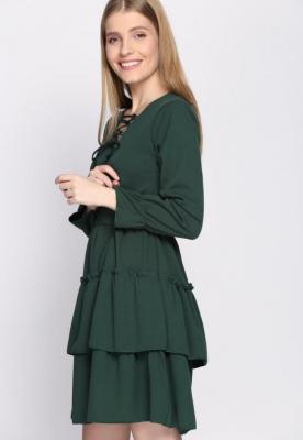 Zielona Sukienka Natured