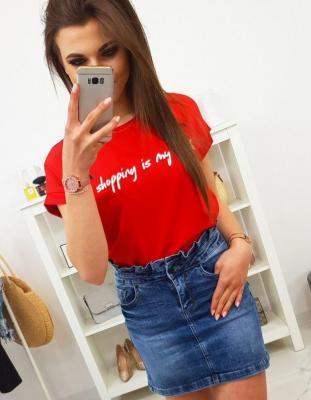 Spódniczka jeansowa WOW LADY CY0189