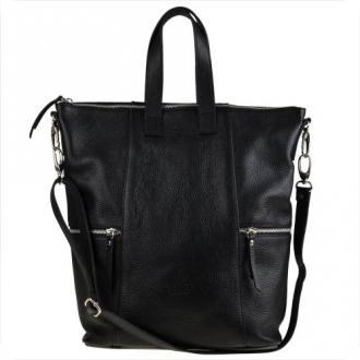 Vezze torebko-plecak w kolorze czarnym xl