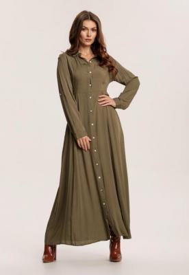 Zielona Sukienka Hillcrest