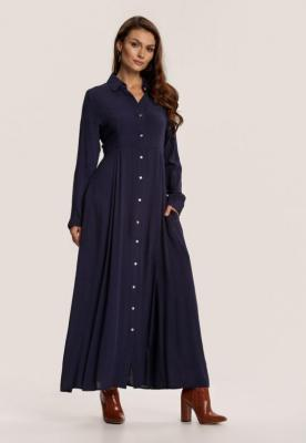 Granatowa Sukienka Hillcrest