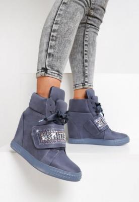 Niebieskie Sneakersy Want Me