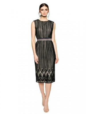 Tiulowa wieczorowa sukienka L'AF DUOMO