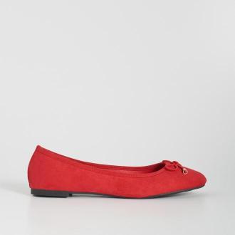 Sinsay - Baleriny z kokardką - Czerwony