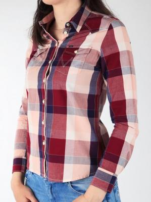 Koszula Wrangler L/S Western Shirt W50454MRI