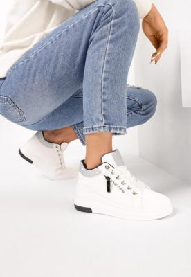 Białe Sneakersy Solidago
