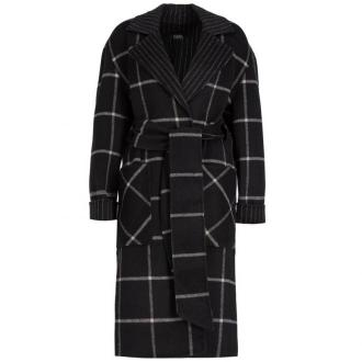 Płaszcz zimowy Karl Lagerfeld