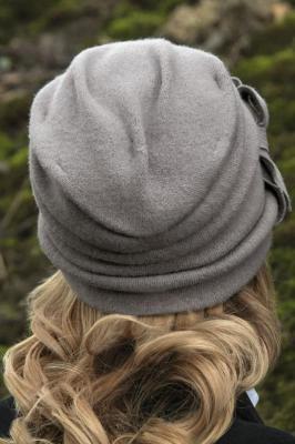 Willi Bari Nakrycia głowy czapka - popielaty - Zdjęcie 2
