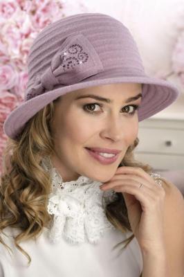 Willi Peni Nakrycia głowy kapelusz - pudrowy róż