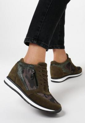 Khaki Sneakersy Every Position