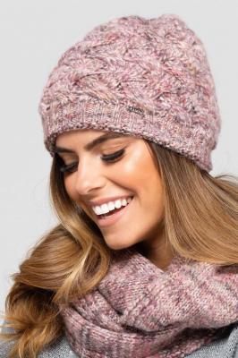 Kamea Dakota N beret z daszkiem - różowy