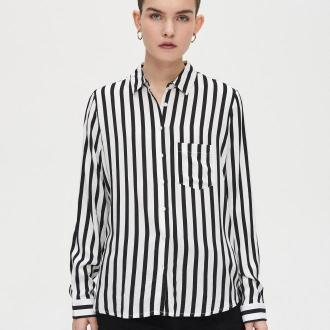 Cropp - Koszula w paski - Biały