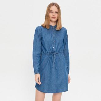House - Jeansowa sukienka - Granatowy