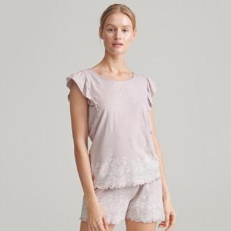 Reserved - Piżama z szortami - Brązowy