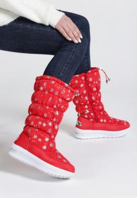 Czerwone Śniegowce Mandy