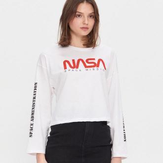 House - Koszulka NASA - Biały
