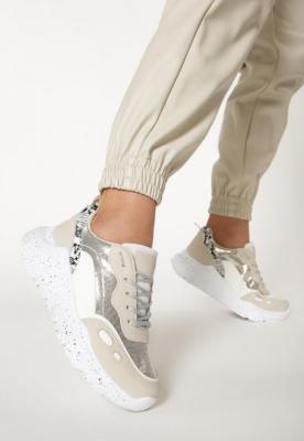 Beżowe Sneakersy Callan