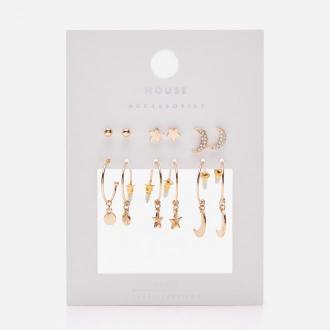 House - Zestaw kolczyków - Złoty