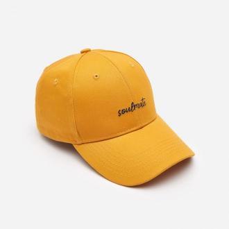 House - Czapka z daszkiem - Żółty