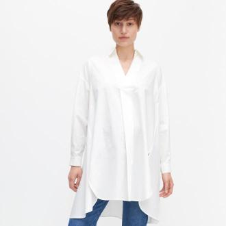 Reserved - Długa koszula - Biały