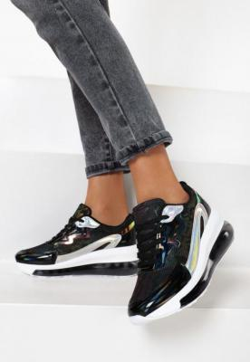 Czarne Sneakersy Nedali