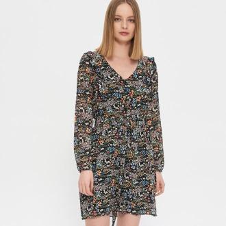 House - Sukienka w kwiaty - Wielobarwny