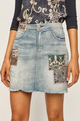Desigual - Spódnica jeansowa