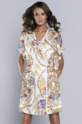 Italian Fashion Gold kr.r. Nocna szlafrok - Gold