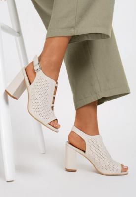 Beżowe Sandały Synolphi