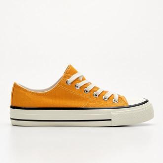 Cropp - Trampki - Żółty