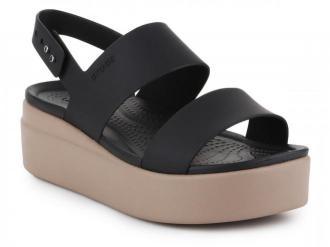 Sandały Crocs Brooklyn Low Wedge W 206453-07H
