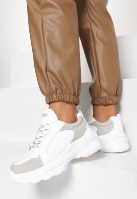 Białe Sneakersy Hyneh