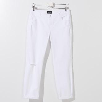 Mohito - Jeansy typu boyfriend - Biały
