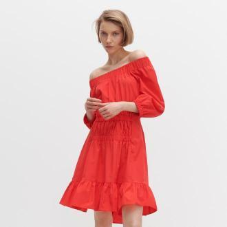 Reserved - Sukienka hiszpanka - Czerwony