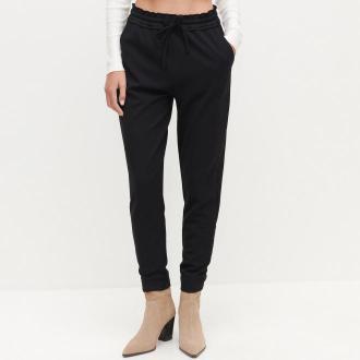 Reserved - Spodnie z elastyczną talią - Czarny