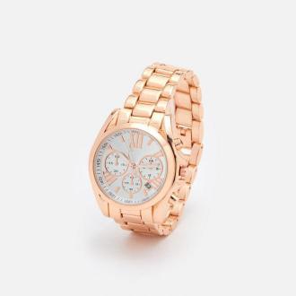 Cropp - Złoty zegarek - Złoty