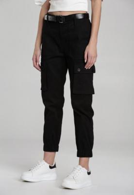 Czarne Spodnie Joggery Atemisia