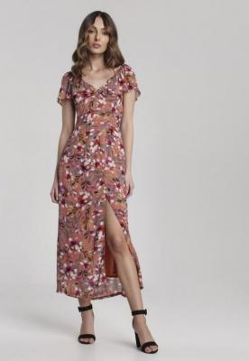 Łososiowa Sukienka Eliles