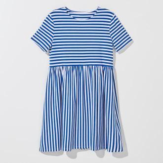 Mohito - Sukienka basic Eco Aware - Niebieski