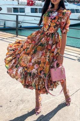 Sukienka SANDIMA ORANGE