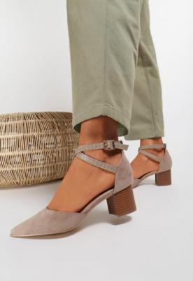 Khaki Sandały Delmadine