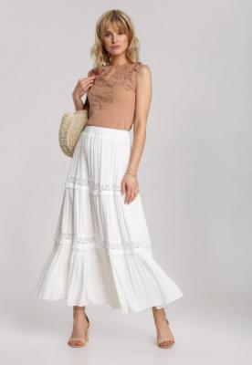 Biała Spódnica Dorilophi