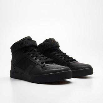 Cropp - Wysokie sneakersy - Czarny