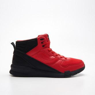 Cropp - Wysokie sneakersy Ronin - Czerwony