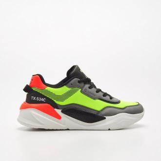 Cropp - Sneakersy TX-534C - Zielony