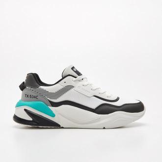 Cropp - Sneakersy TX-534C - Turkusowy