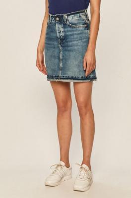 Pepe Jeans - Spódnica jeansowa Revive
